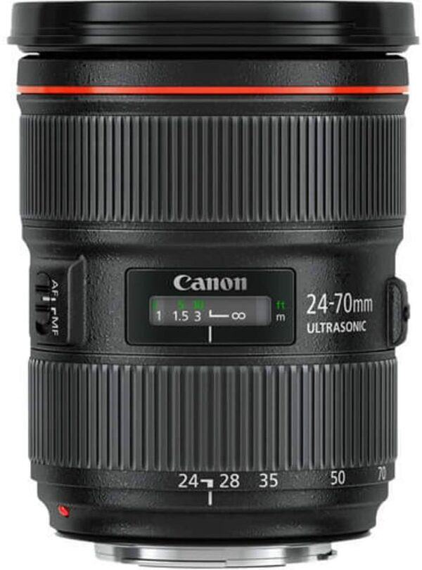 Objetivo canon 24-70